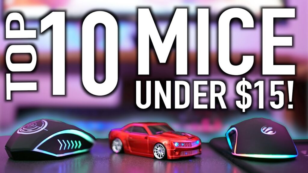 10 Gaming Mice Under $15 That Don't Suck!