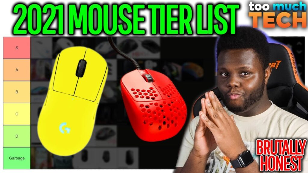 2021 BRUTALLY HONEST GAMING MICE TIER LIST – Too Much Tech
