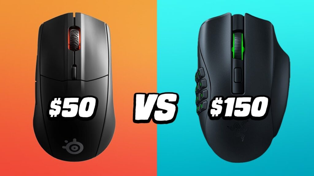 $50 vs $150 Wireless Gaming Mouse: Razer Naga Pro VS Steelseries Rival 3 – Is It Worth It?