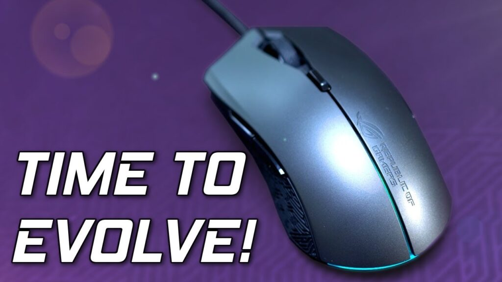 Asus ROG Evolve Review – A Gaming Mouse To Fit Them All.
