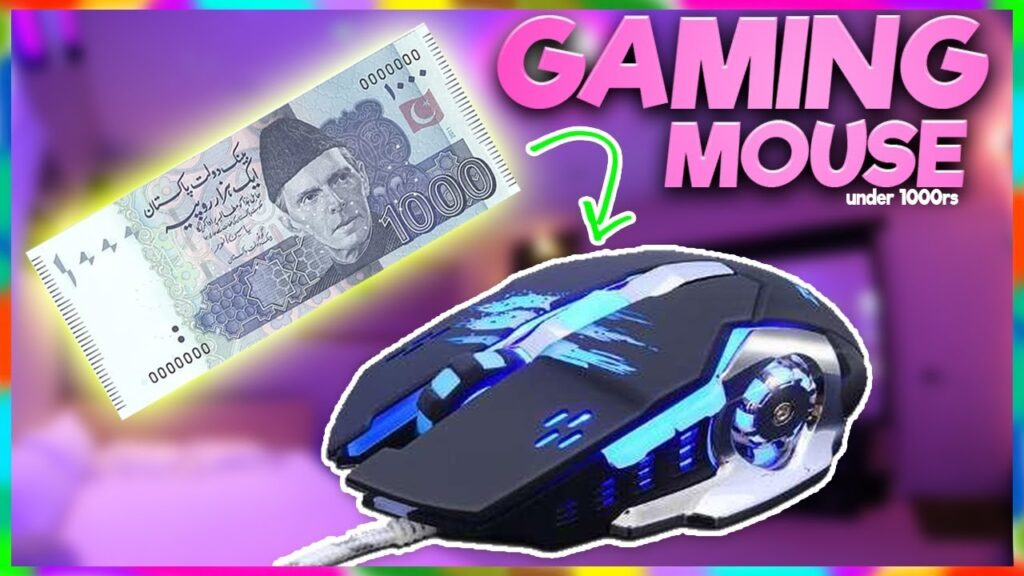 [Budget/Cheap] Gaming Mouse Under 1000rs in PAKISTAN ? | Gaming RGB Mouse Under 10$