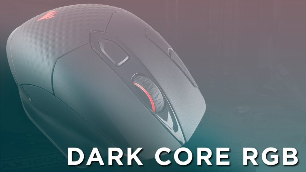 CORSAIR Dark Core RGB Wireless Gaming Mouse – Wired performance, goes wireless.