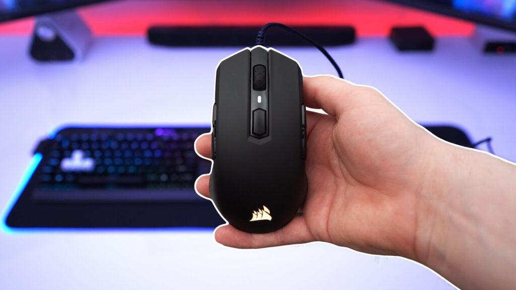 Corsair M55 RGB – E-Sports – 85G – Gaming Mouse Review!