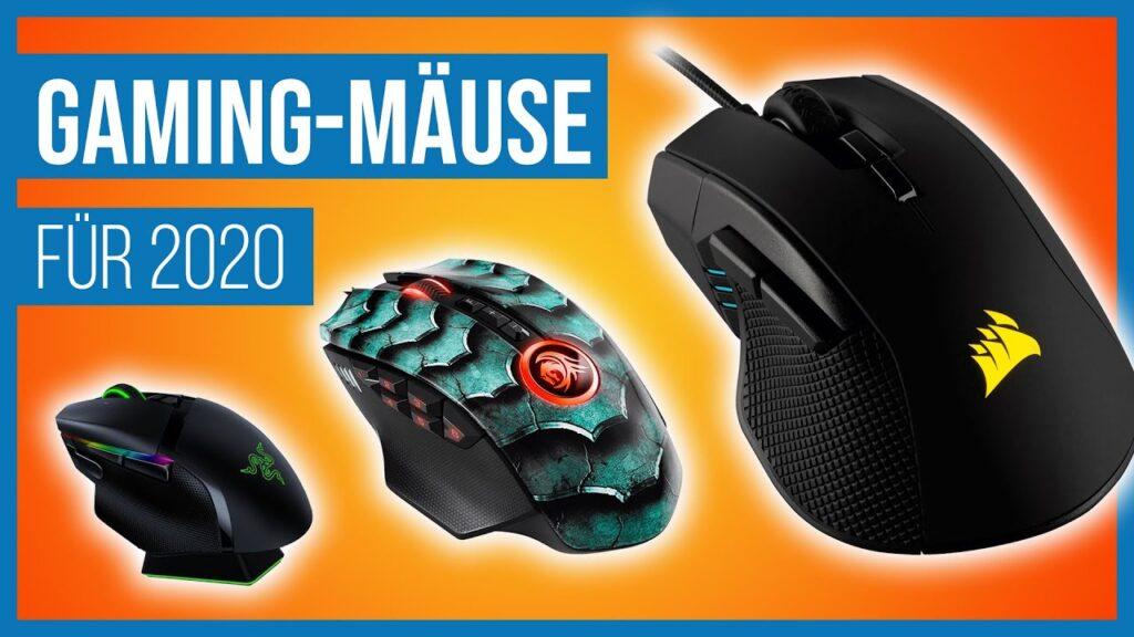 Die besten Gaming-Mäuse 2020 im Test / Review