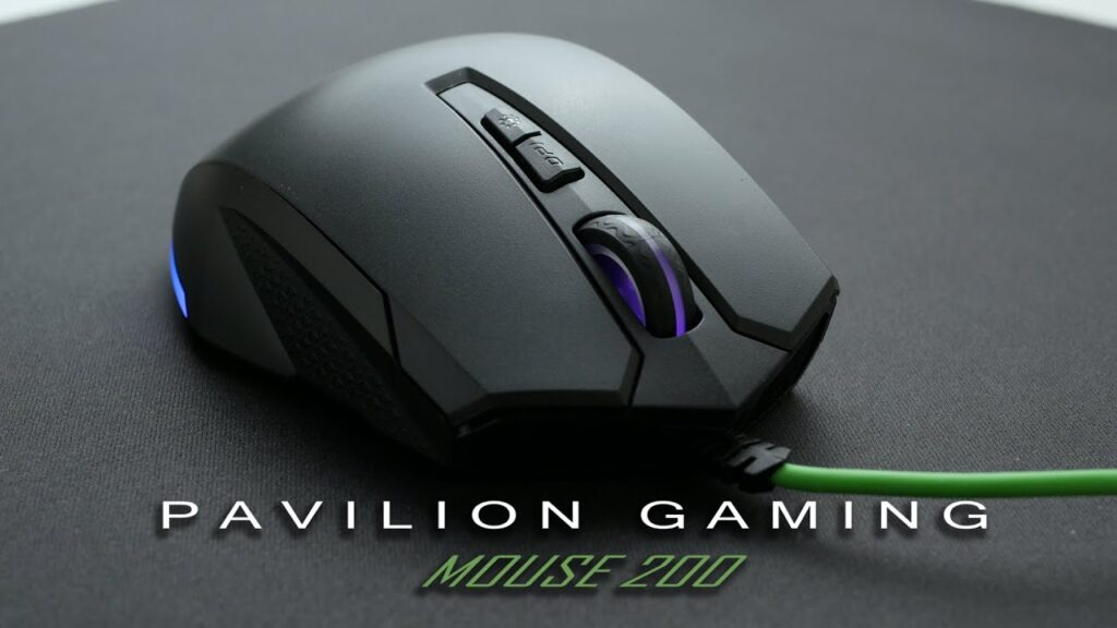 HP Pavilion Gaming Mouse 200 Review 5JS07AA#ABB