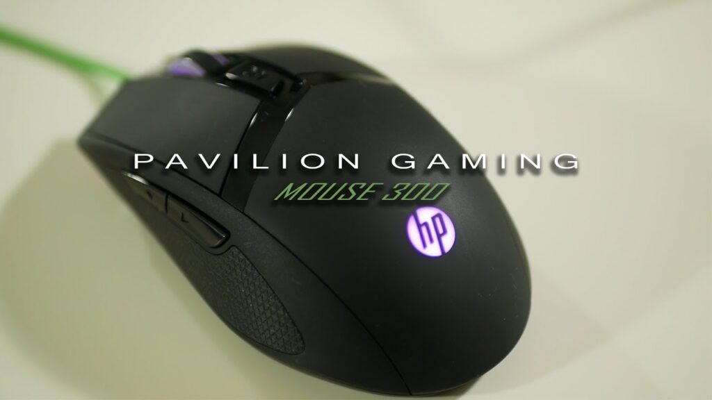 HP Pavilion Gaming Mouse 300 Review 4PH30AA#ABB