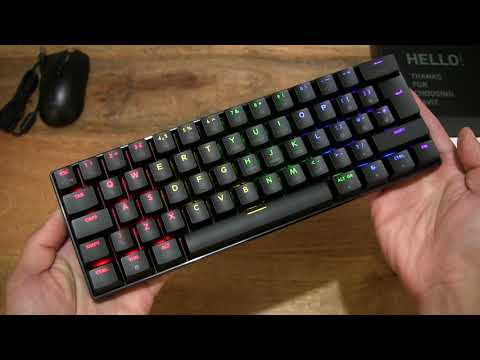 Havit 60% Mechanical Keyboard and Mouse Set