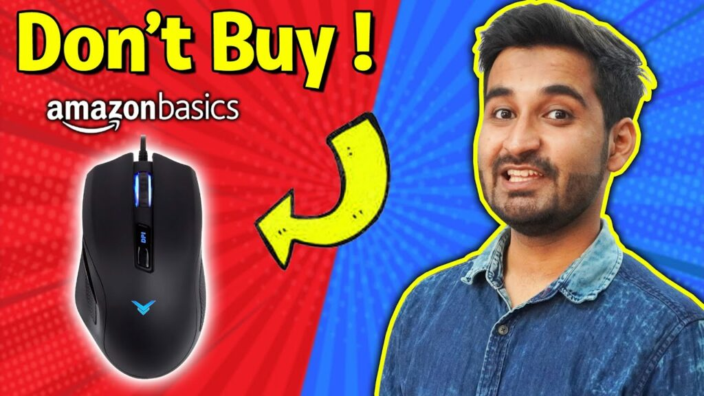 I USED Amazon Basic Gaming Mouse for a Week !