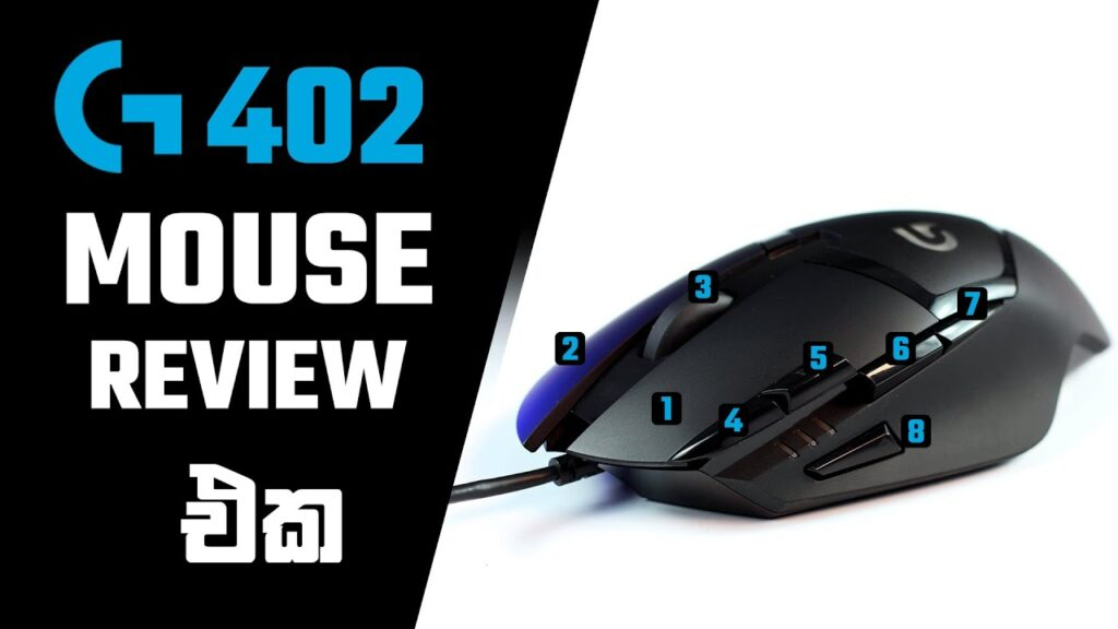 Logitech G402 Gaming Mouse Review