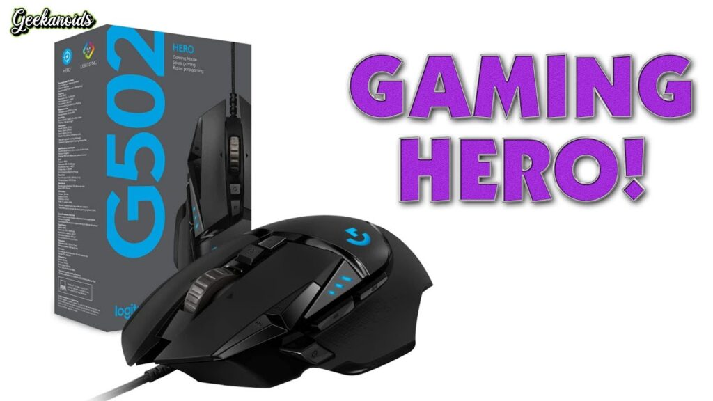 Logitech G502 Hero High Performance Gaming Mouse Review