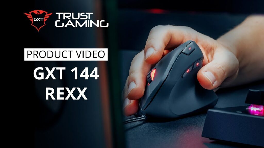 Our First Vertical Gaming Mouse! The GXT 144 Rexx 👊