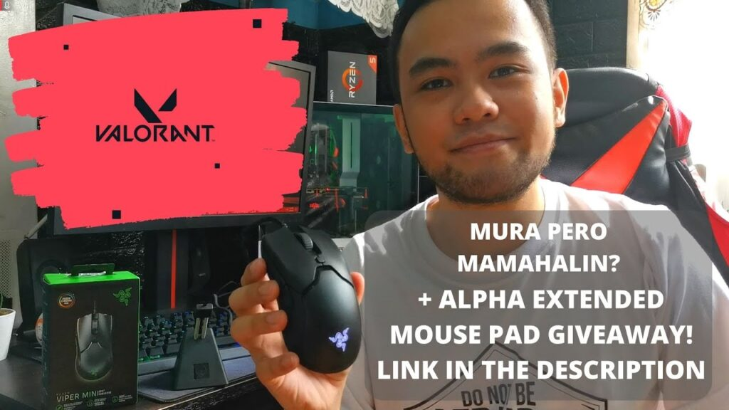 Razer Viper Mini Tagalog Review – The Best Budget Gaming Mouse for Valorant PLUS GIVEAWAY!