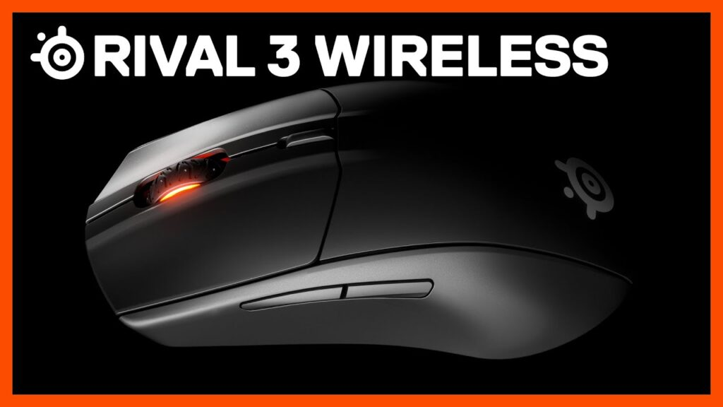 Rival 3 Wireless Gaming Mouse with 400-Hour Battery Life – SteelSeries