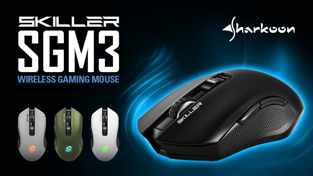 Sharkoon SKILLER SGM3 Wireless Gaming Mouse