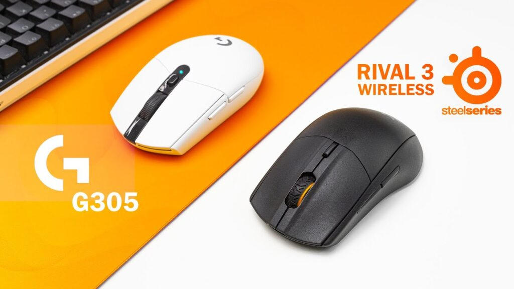 Steelseries Rival 3 Wireless vs G305 Wireless Review – The Best Wireless Gaming Mice!