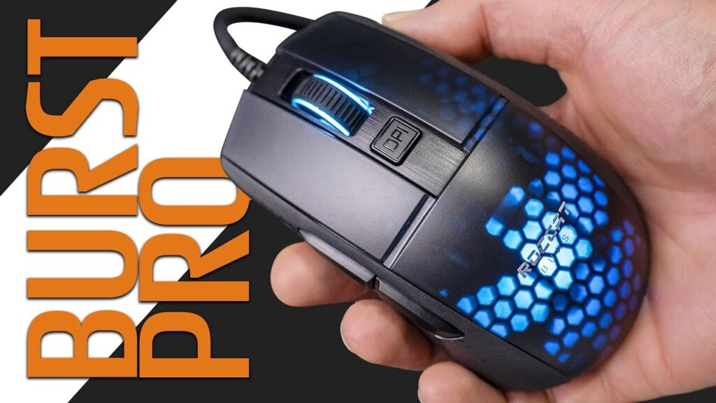 This Gaming Mouse is UNREAL! Roccat Burst Pro Review and Unboxing