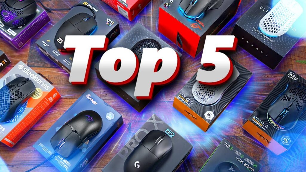 Top 5 Gaming Mice of 2020!
