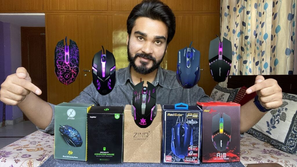 Top5 Gaming mouse under RS 500 | Inphic,Redgear,Xmate,Dragonwar,ZingTechnologier| Unboxing |Review|