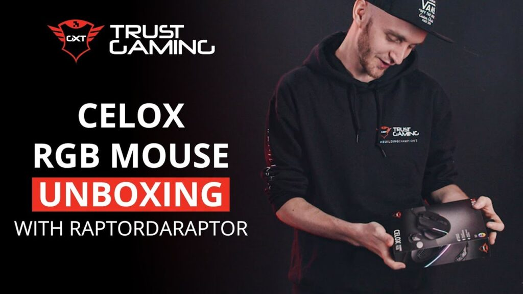 Unboxing GXT 165 Celox RGB Gaming Mouse by RaptordaRaptor