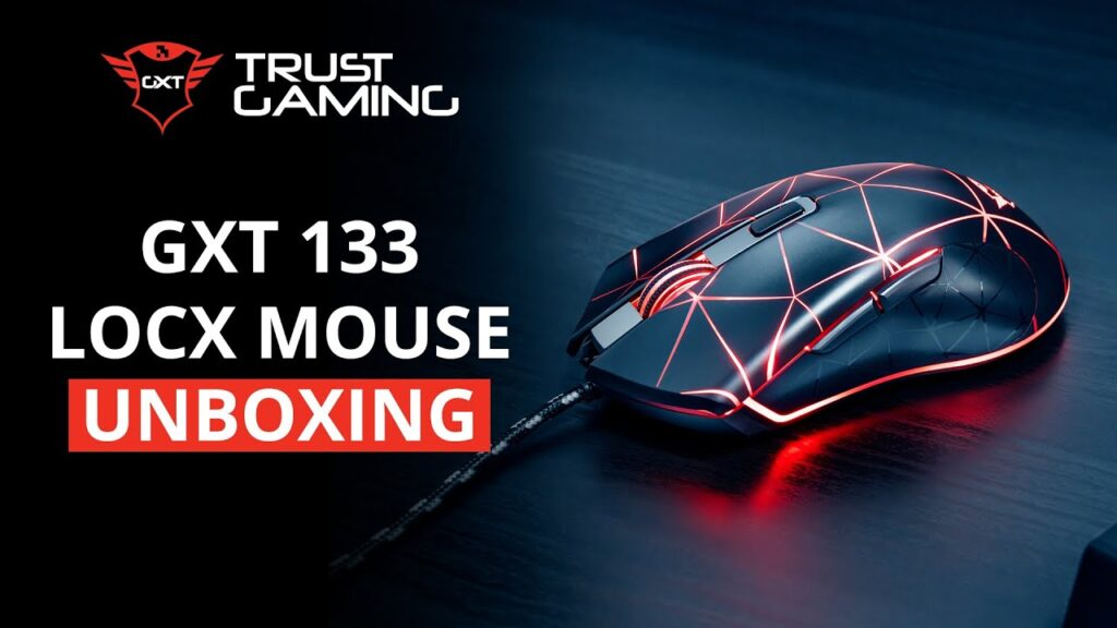 Unboxing the GXT 133 Locx Gaming Mouse